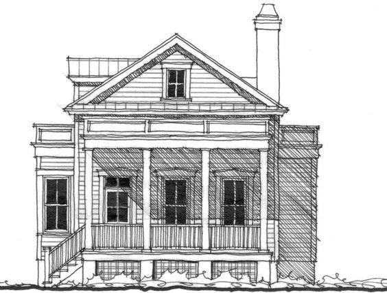 Allison ramsey architects floorplan for the verdier - Allison ramsey architects ...