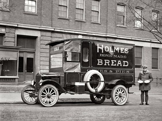Ford Model TT Delivery Truck from 1921.