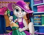 Em Talking Angela Closet, Talking Angela é uma gatinha estilosa e muito fashion. Ela tem um incrível closet com todas as novidades da moda. Mas, o seu closet está uma completa bagunça e ela precisa de sua ajuda para colar tudo em ordem. Depois, escolha um lindo visual com suas roupas fashion. Divirta-se com Talking Angela!