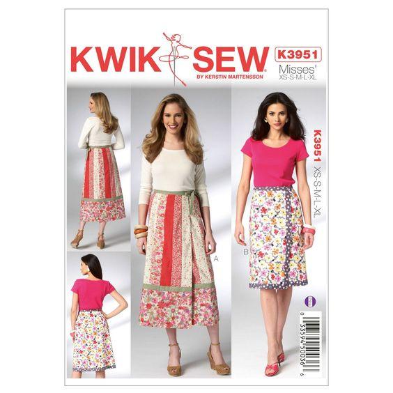 Mccall Pattern K3951 Xs-S-M-L-X-Kwik Sew Pattern