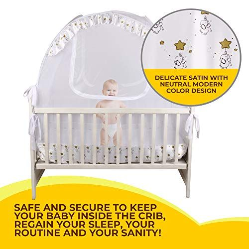 Nahbou Baby Crib Pop Up Tent Infant Bed Safety Canopy Co Https