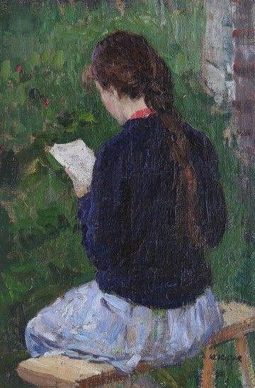 "Yuri Kugach. In love with this ""Women Who Read (Art)"" pin board...."