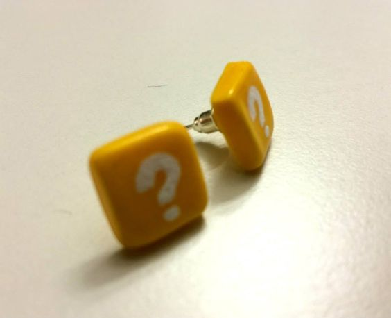 4. Fenster - questionbox earrings made by Wowa http://hope.ly/1pWWc2H