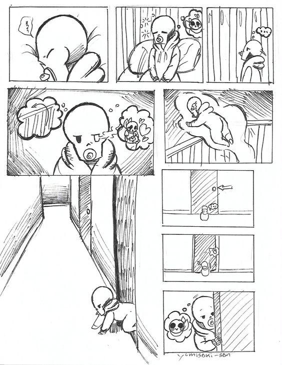 Underswap Sans Papyrus Comic