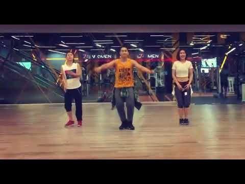 Atp Zumba Bailando By Zin Toto Ann Phing Youtube Zumba Sean Paul Youtube