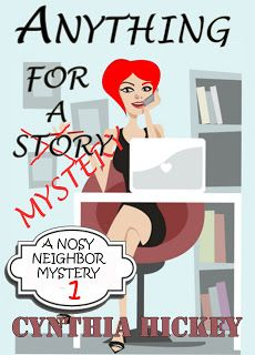 Giveaway at SUSPENSE SISTERS: Anything For a Mystery by Cynthia Hickey #BookGiveaway