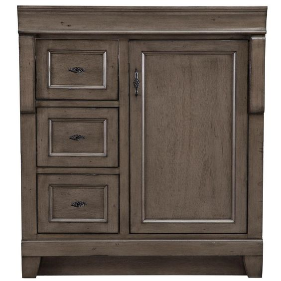 Naples drawers and hands on pinterest for Bathroom cabinets naples fl