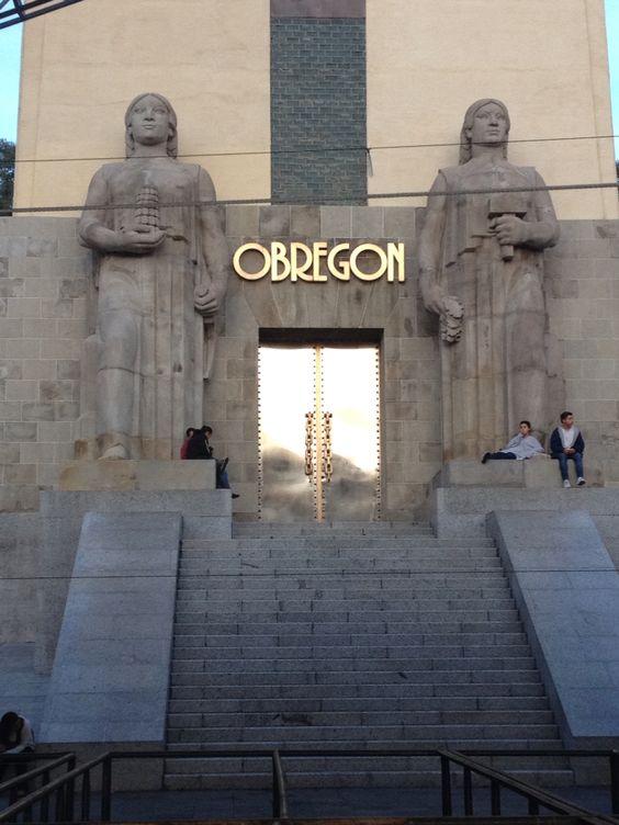 Monumento obregon ciudad de mexixo