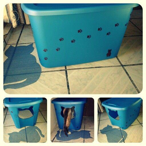 caja de arena para bobby cat litter box arena kitty litter box