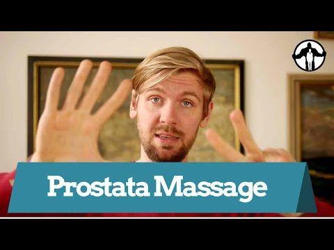 Massage der männlichen Prostata