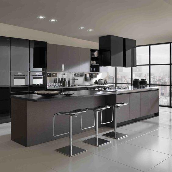 Superb cocina con desayunador Home Sweet Home Pinterest Modern kitchen designs Kitchens and Kitchen design