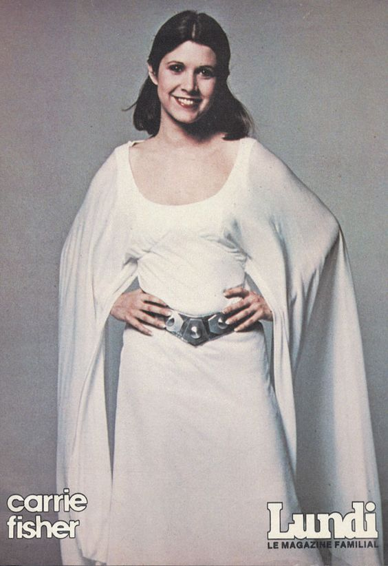 STAR WARS EPISODE IV: A NEW HOPE, 1977  PRINCESS LEIA CEREMONIAL GOWN. CUSTOM DESGING BY JOHN MOLLO. http://kay-dee.net/costumes/leia_cermonial/dress/