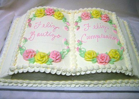 Baptism/Birthday Cake