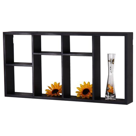 Adeco en 7-opening Wall Shelves