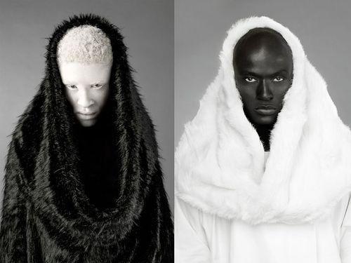 Melanistic Human   Displaying (20) Gallery Images For Melanistic Vs Albino...