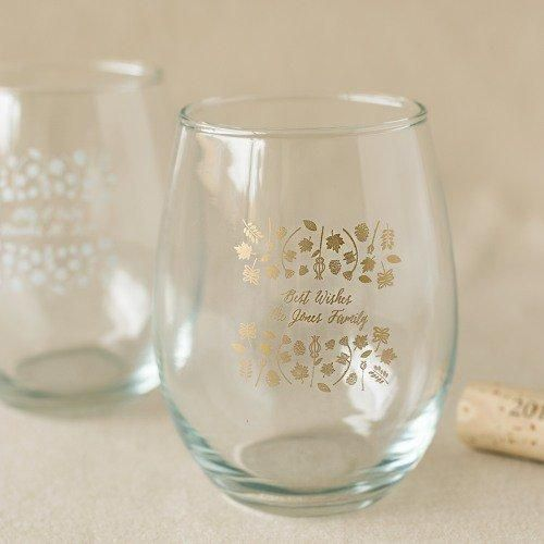 Decorate your favors with a gorgeous leaf motif