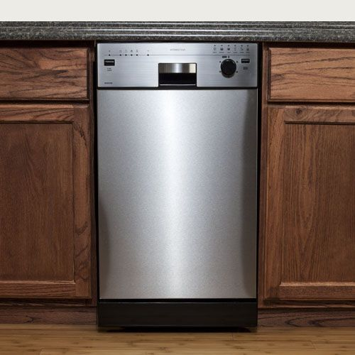 "EdgeStar 18"" BuiltIn Dishwasher Small homes, Stainless"