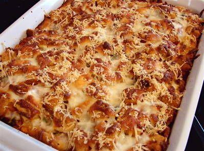 Chicken parmesan bake