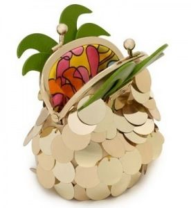 kate spade pineapple coin purse