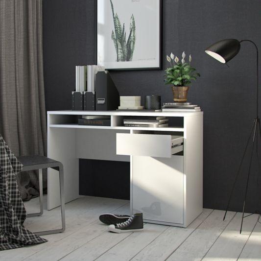 bureau 1 porte et 1 tiroir best lak 3