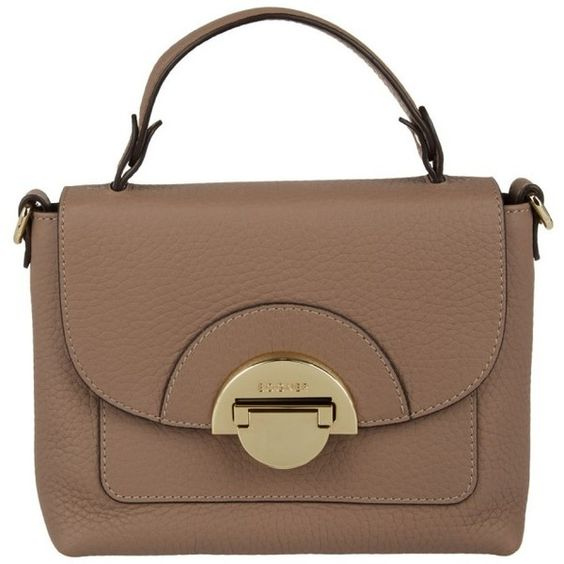 Bogner Madison-Amy Crossbody Bag Cherrywood in beige, Shoulder Bags (29,295 INR) ❤ liked on Polyvore featuring bags, handbags, shoulder bags, beige, shoulder handbags, leather crossbody, leather man bags, brown crossbody purse and crossbody purses