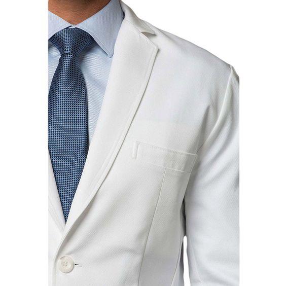 Medelita Men's Cushing Slim Fit Lab Coat | Scrubs | Pinterest