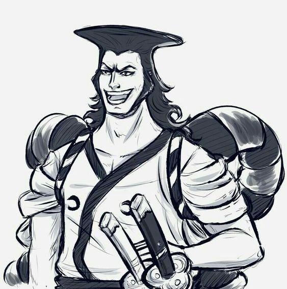 Kozuki Oden One Piece Male Sketch 0ne Piece