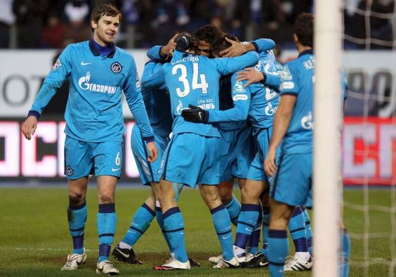 Soccer (Futbol) - Zenit St. Petersburg, my favorite team from Russia