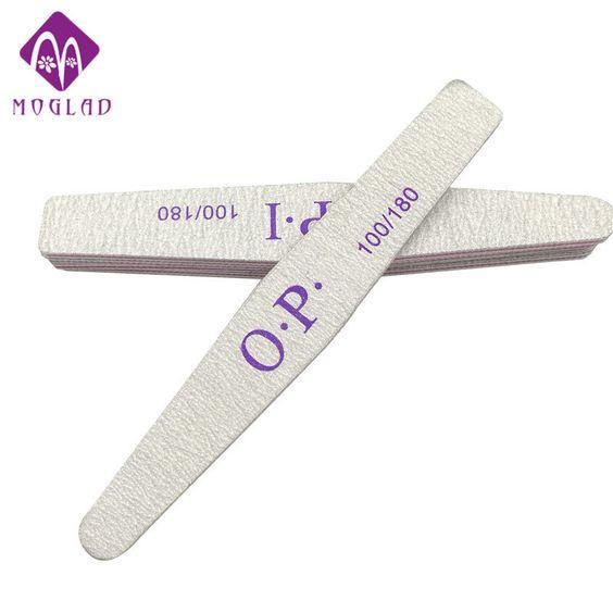 5PCS/lot diamond nail file custom printed nail file sandpaper nail art manicure wholesale