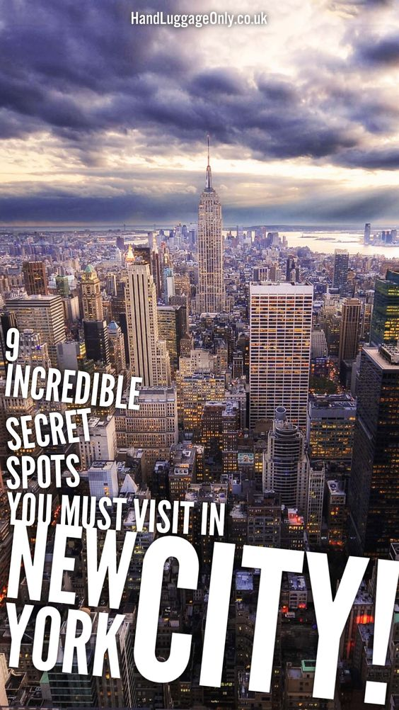 9 Incredible Secret Spots You Have To Visit In New York City - Hand Luggage Only - Travel, Food & Home Blog