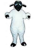Mascot costume #2610-Z Black Faced Sheep