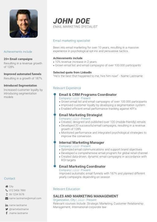Create Your Professional Cv In 3 Simple Steps Cv Template Cv Template Free Professional Resume Template Cv Design Template