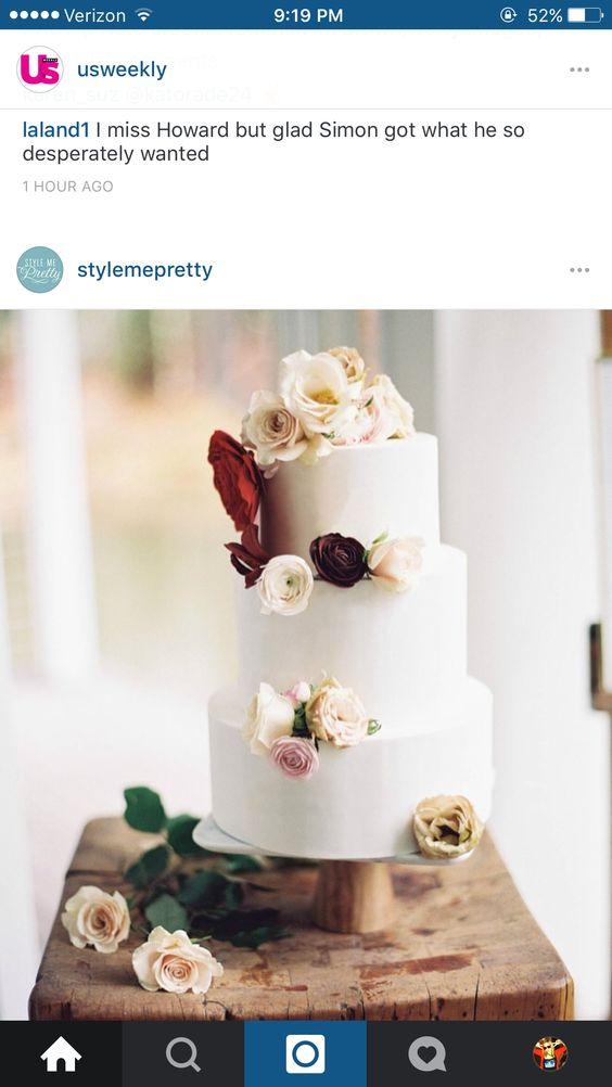 Simple cake decorations