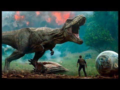 Jurassic World 2 El Reino Caído Español Latino Nuevas Hd Trailers 2018 Trailers Pelícu Jurassic World Fallen Kingdom Film Jurassic World Jurassic World