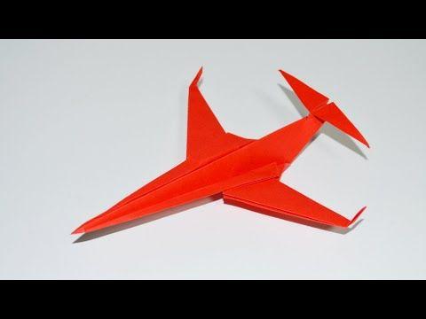 Como Hacer Un Avion De Papel Aviones De Papel Origami Avión Youtube Como Hacer Un Avion Aviones De Papel Sobres De Papel