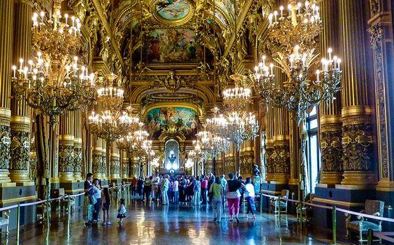 #Grand #Foyer der #Pariser #Oper © Gudrun Krinzinger
