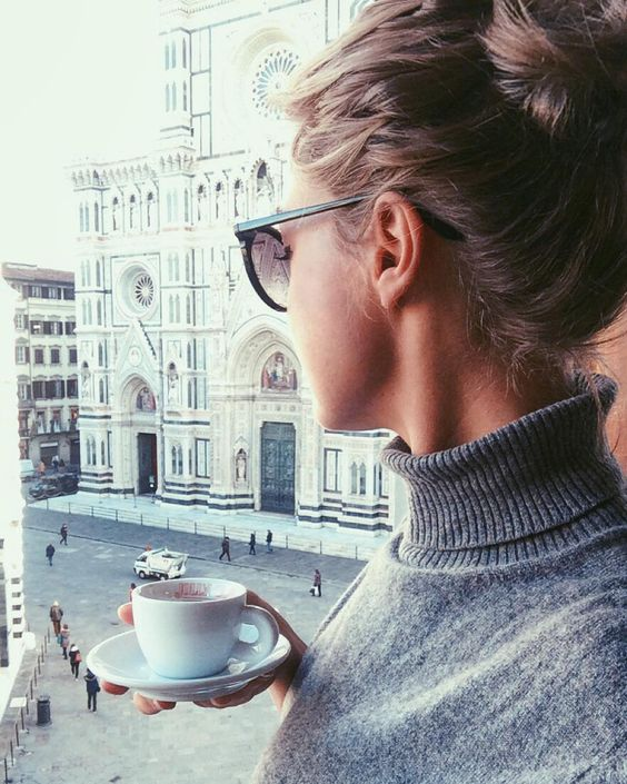 """stylishblogger: """" Behind every successful woman is a substantial amount of coffee… by eleosebastiani """""""