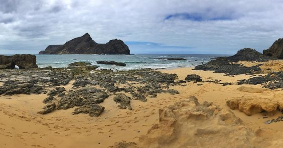 Porto Santo: a small and very charming island #PortoSanto #island #Madeira #Portugal #sand #beach #coast #sky #sea #love #rocks #rocky #water #iphone #trip #travel #instamood #instatrip #instatravel #wanderlust by rafaelcors