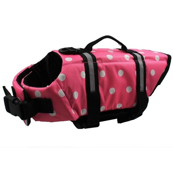 Eaagd Dog Life Jacket - Quick Release Easy-Fit Adjustable Dog and Cat Life Vest Preserver ** You can get more details by clicking on the image.