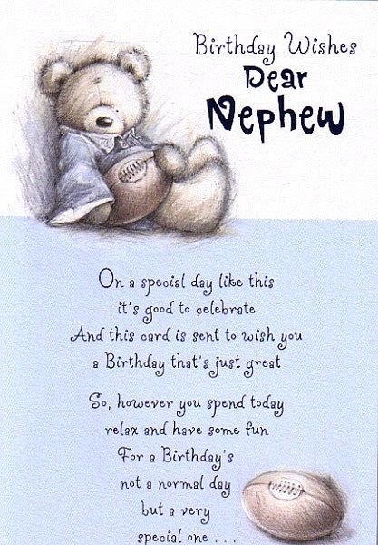 Birthday Wishes – Birthday Cards for Nephew
