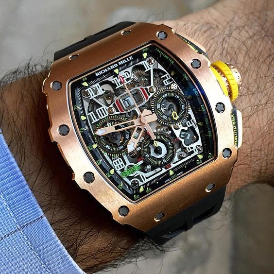 Live Shot of the newest RM 11-03 RG from Richard Mille.