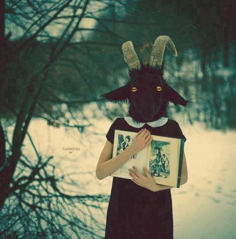 the last goat telling you its traumatic childhood called fairytale: