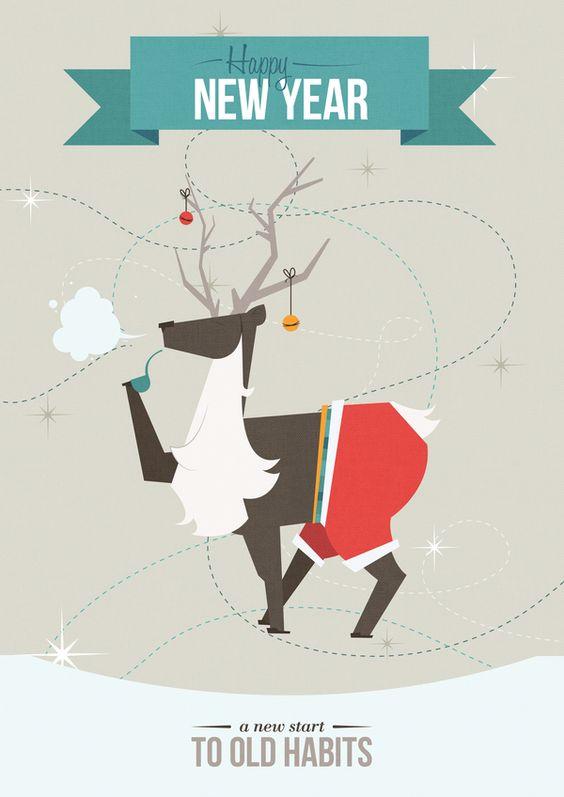 le bandeau du haut à faire en volume  Season's Greetings: 2011/2012 on the Behance Network