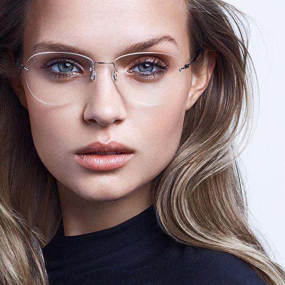 Óculos Sem Aro (foto: Pinterest/Reprodução)