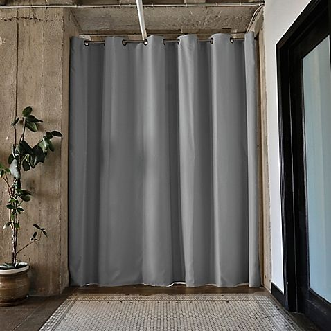 Roomdividersnow Medium Tension Rod Room Divider Kit B With 9 Foot
