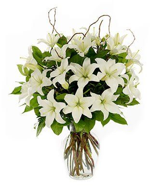 Loving Lilies - White - Flowers - http://yourflowers.us/?p=368: