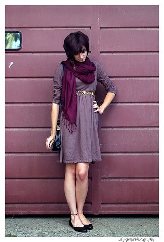 eggplant-gray and dark purple | colors to die for