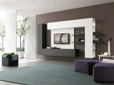 TV wall Contemporary cabinets. - Other - Other Metro - Archisesto Inc.