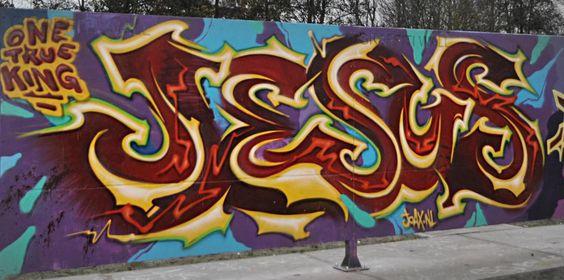 Graffiti, Libros And Jesus On Pinterest