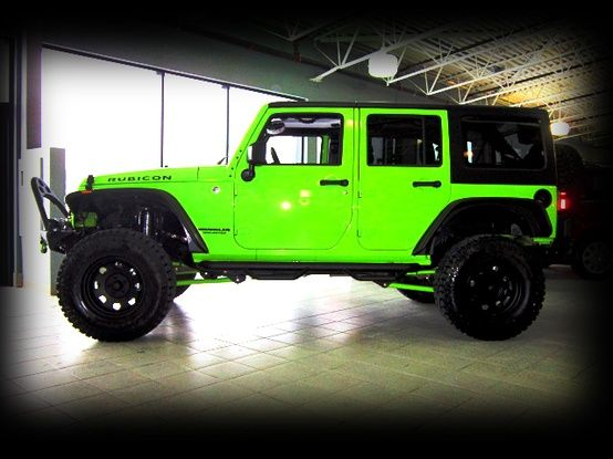 Green Jeep Jeeps And Jeep Mods On Pinterest